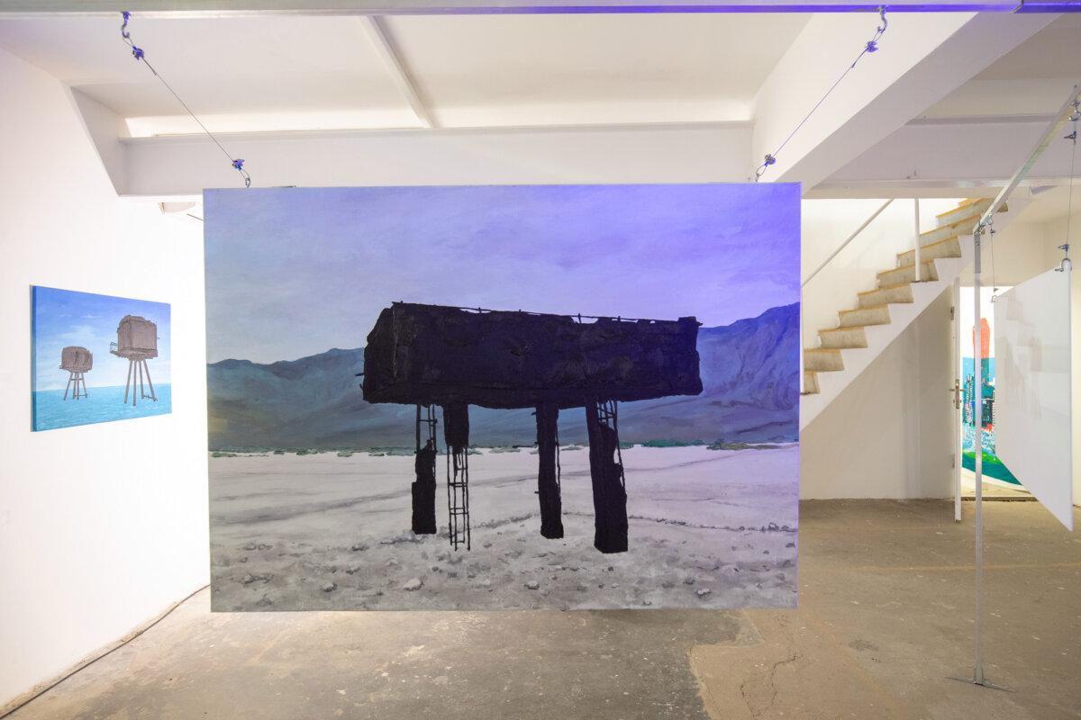 Abandoned Military Buildings, installáció, 2020 - fotó: Jekken Péter