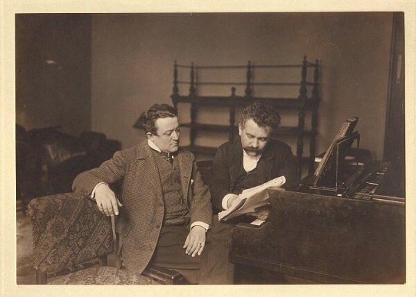 Karel Burian és Kerner István