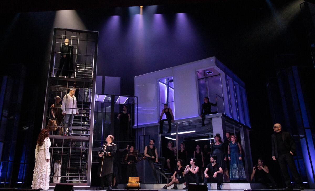 A La Mancha lovagja az Operettszínházban - fotó: Juhász Éva