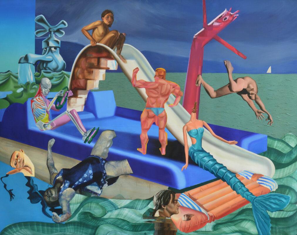 Lázár Kristóf: Hajótörés-jelenet 2020