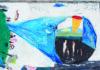 Ujházi Péter: Más tájak jönnek 2015, akril, karton, papír, 60,5 x 89,5 cm, Várfok Galéria - forrás: Várfok Galéria