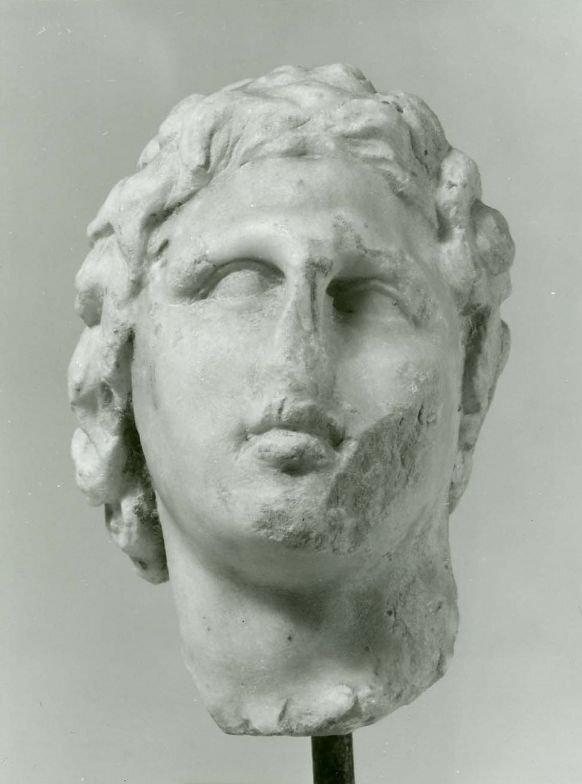 Nagy Sándor képmása, Kr. e. 4. század - forrás: Szépművészeti Múzeum