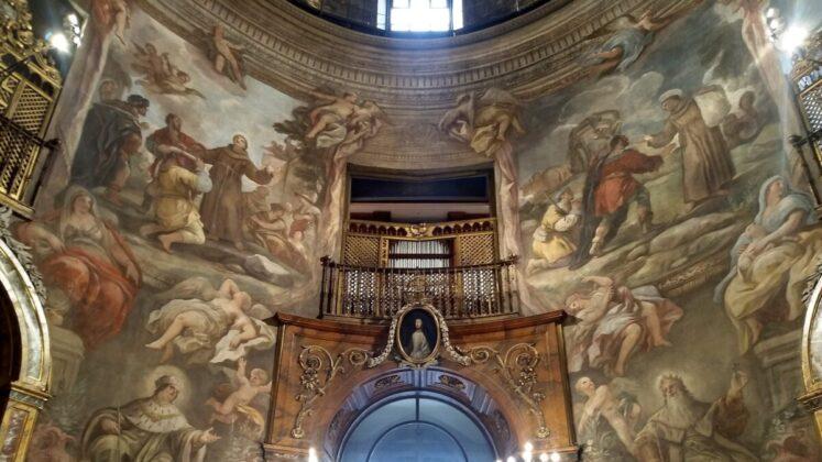 A San Antonio de los Alemanes templom freskói - Fotó: Marton Ildikó