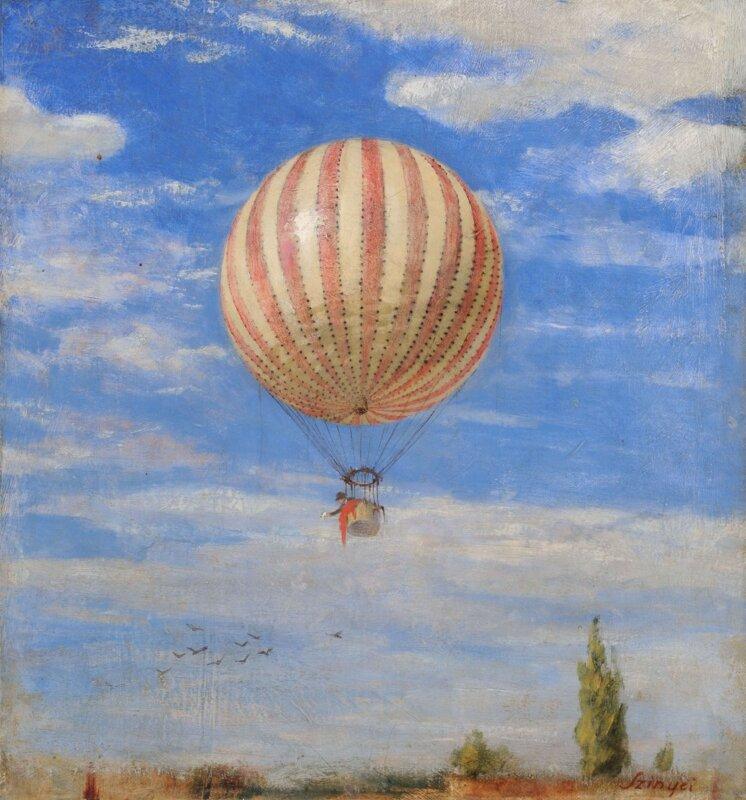 Szinyei Merse Pál: Léghajó, 1878