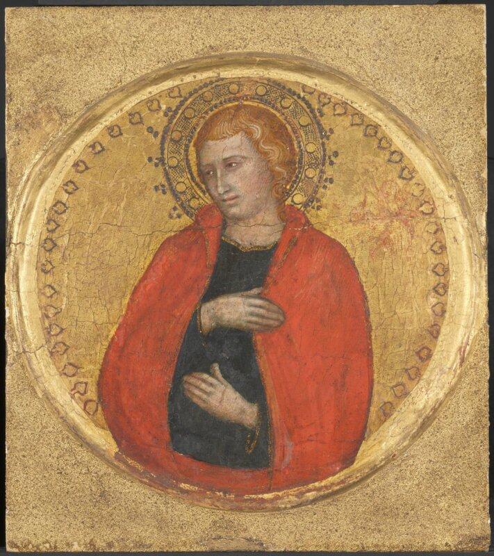 Taddeo di Bartolo műhelye - Evangélista Szent János, 1400 körül- forrás: Szépművészeti Múzeum