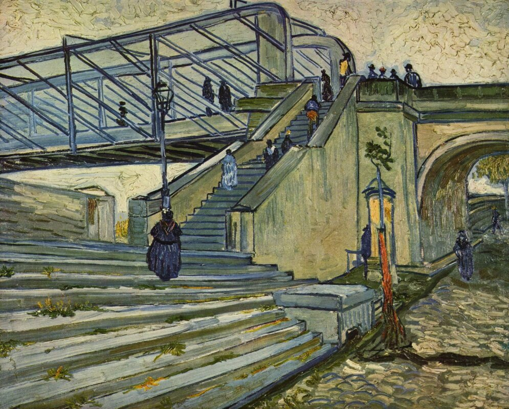 Vincent van Gogh: A Trinquetaille-i híd – forrás: Wikipedia