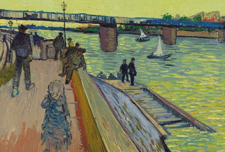 Vincent Van Gogh: A híd Trinquetaille-nál – forrás: Christie's