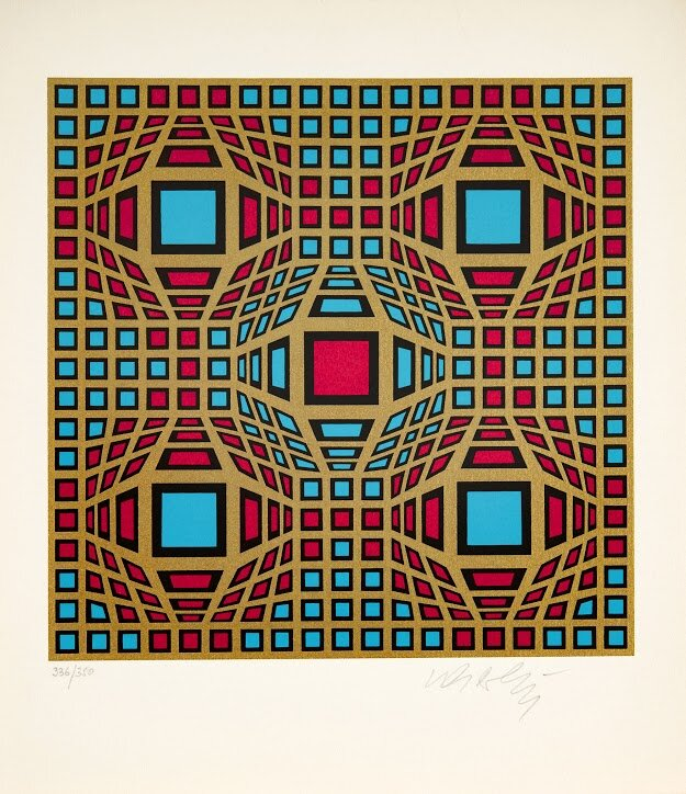 Vasarely Victor 1906-1997 - Virág Judit Galéria