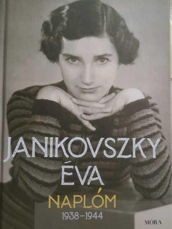 Janikovszky Éva: Naplóm borító - forrás: Móra Kiadó