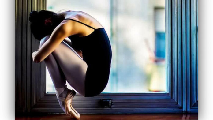 Pétery Melinda táncművész - forrás: Kultúrpanda