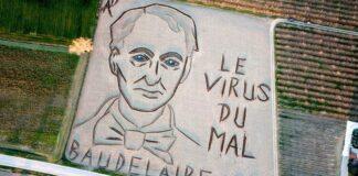 Baudelaire portréja Verona közelében - forrás: Youtube