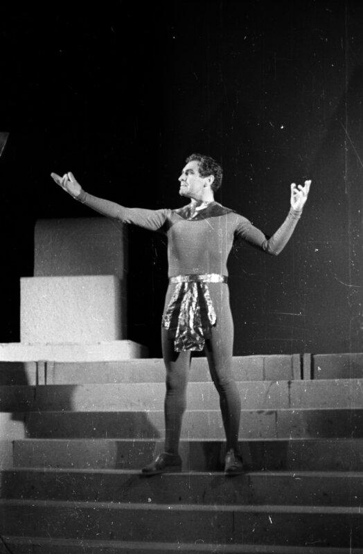 Bárdy György Ádám szerepében a kecskeméti Katona József Színházban, 1961-ben