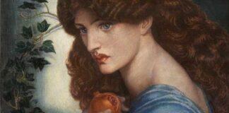 Dante Gabriel Rossetti: Prosperina 1874