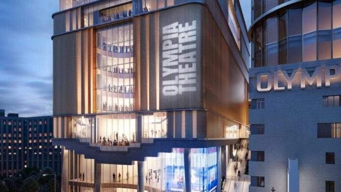 A színház látványterve - forrás: Future Olympia FB-oldala
