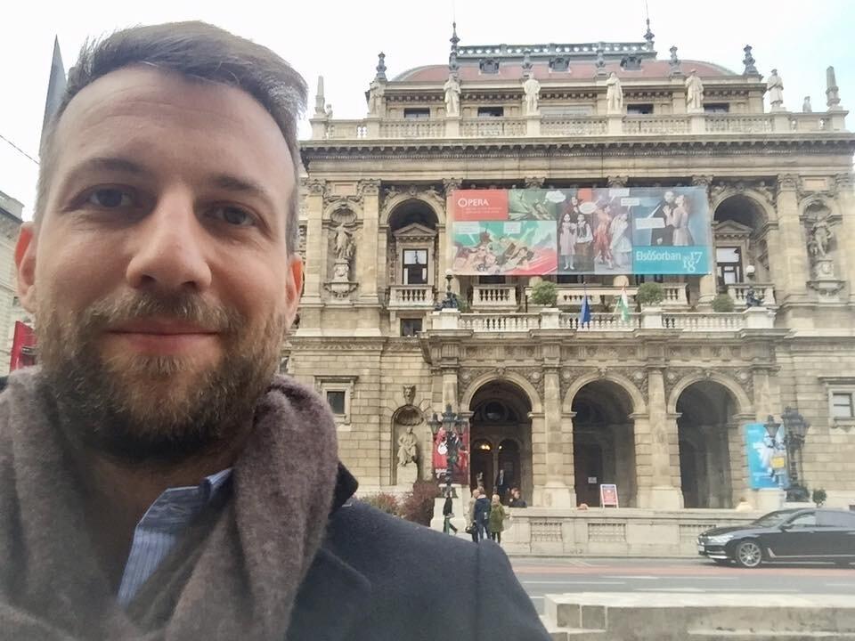 Fabio Ceresa és a budapesti Operaház 2017-ben - forrás: a művész FB-oldala