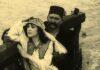 Jelenet Korda Sándor Az aranyember című némafilmjéből