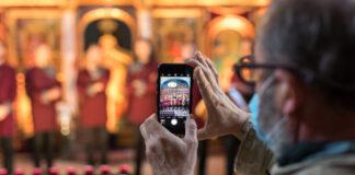 A Szent Efrém Férfikar az Öt Templom Fesztiválon