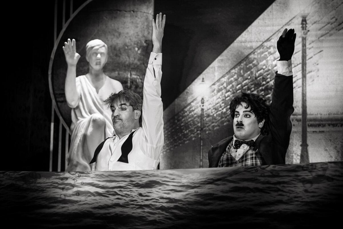 Chaplin - forrás: Városmajori Szabadtéri Színpad