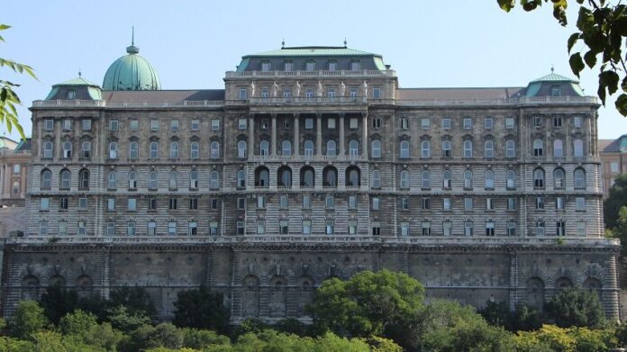 Az OSZK épülete – fotó: Szemerédi Ágnes