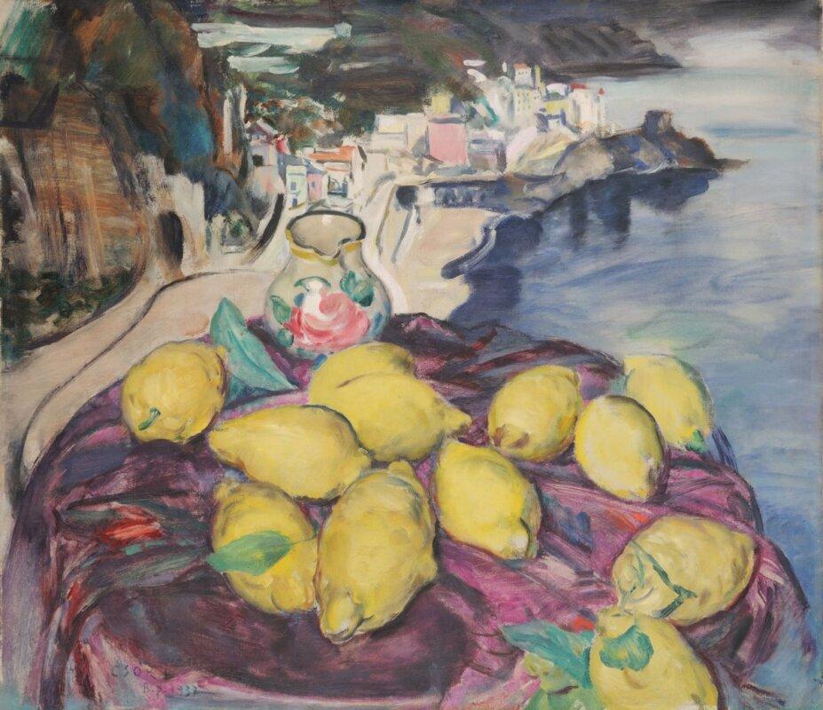 Csók István: Amalfi, 1937 - forrás: Magyar Nemzeti Galéria