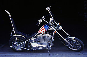 Captain America, Harley-Davidson Panhead, 1952/1967 – forrás: Cord & Kruse Auctions