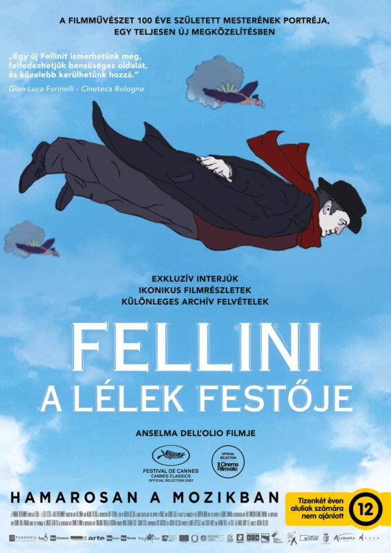 Fellini A lélek festője plakát - forrás: Pannonia Entertainment