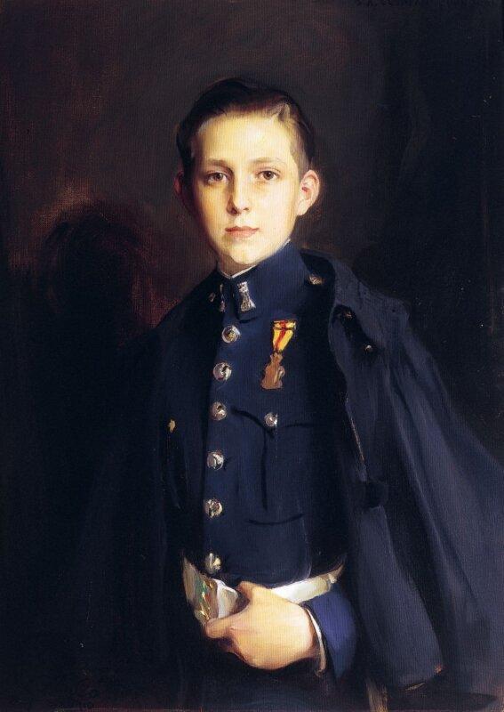 László Fülöp: János infáns, 1927. Madrid, Patrimonio Nacional - forrás: wikipédia
