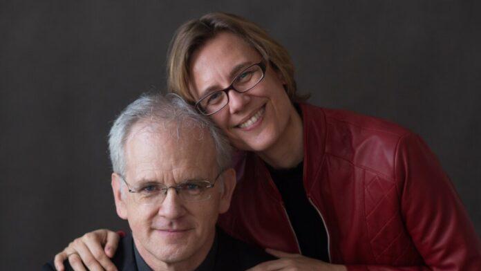 Kertész Agnes és Pier Luigi Fabretti