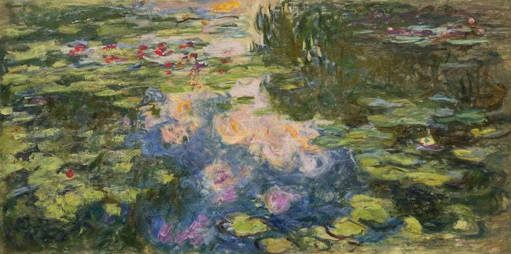 Claude Monet: Vízililiomos tó – forrás: Sotheby's