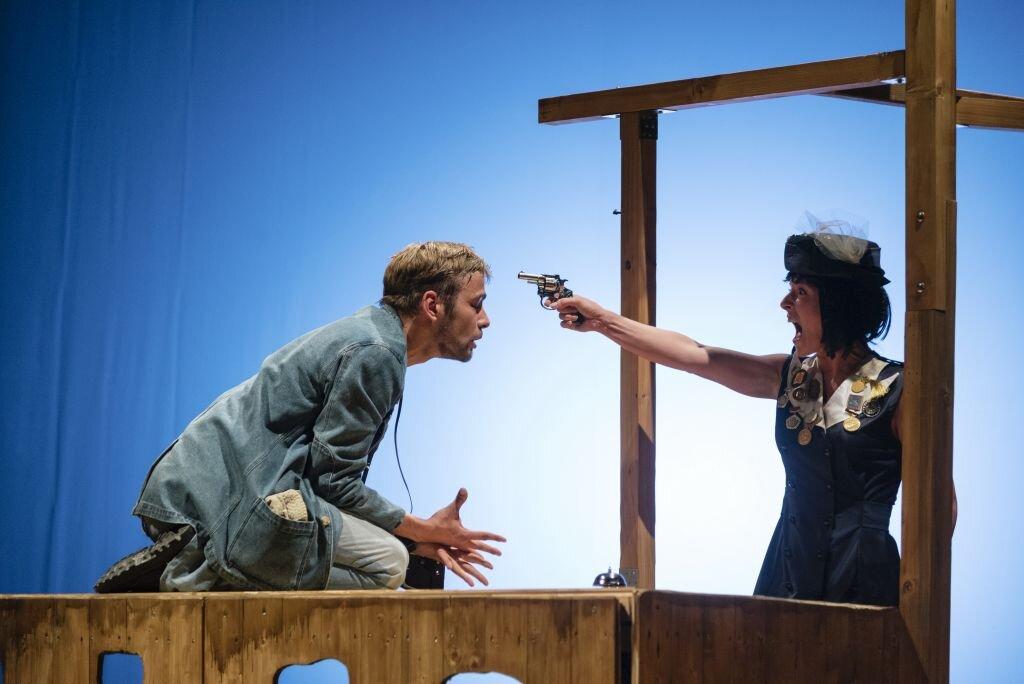 Szedjetek szét – Szabadkai Kosztolányi Dezső Színház - fotó: Molnár Edvárd
