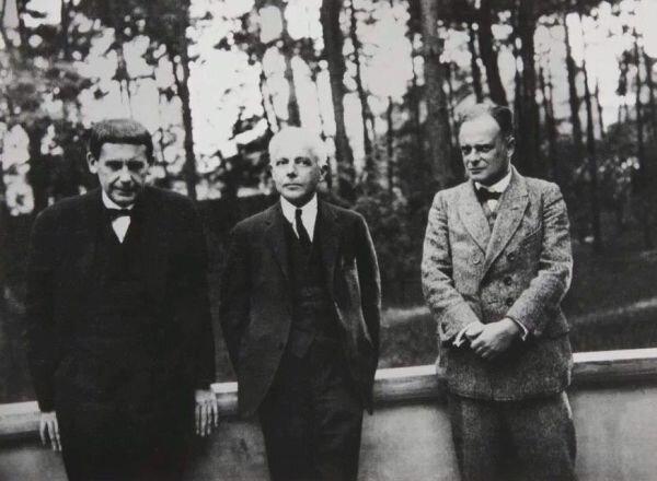 Walter Gropius, Bartók Béla és Paul Klee Dessauban (1927) | Hungart © 2021