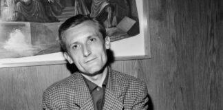Pilinszky János - forrás: Fortepan / adományozó: Hunyady József (a kép 1969-ben készült)
