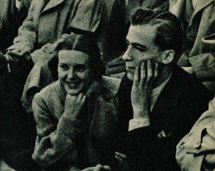 Német Romola, Gellért Endre / Forrás: Színházi Élet, 1936/ 25. 64. Arcanum