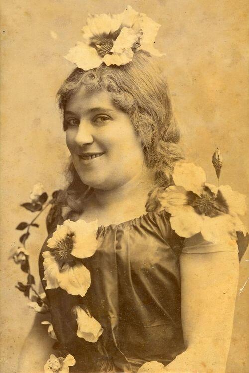 Pauli Mariska 1890-ben - OSZMI