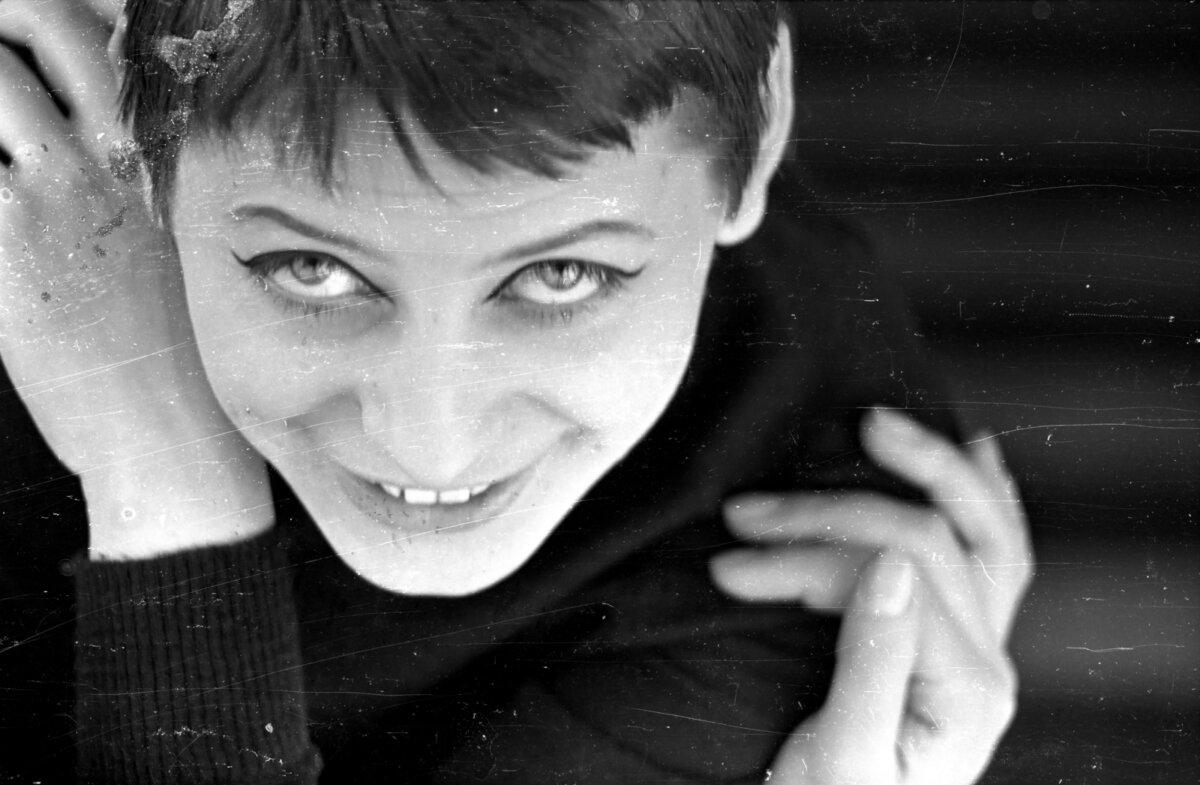 Ronyecz Mária 1964-ben / Fotó: Kende János / Fortepan