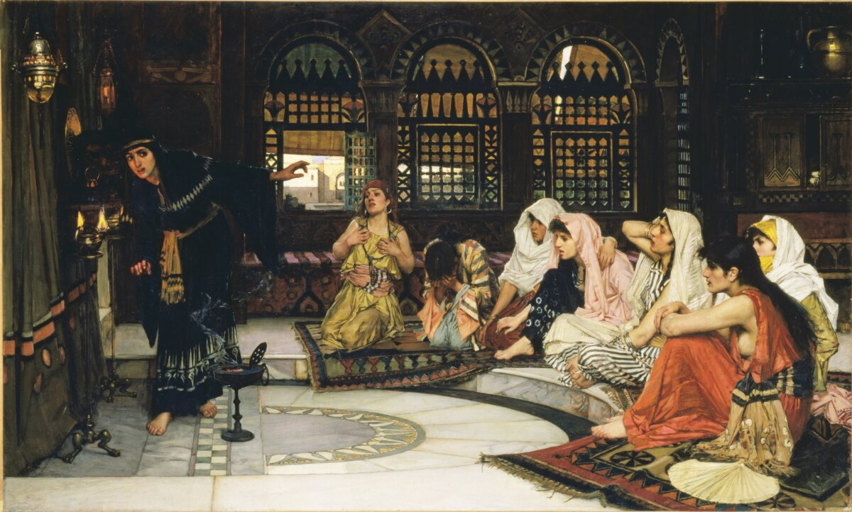 John William Waterhouse: Consulting the Oracle, 1884