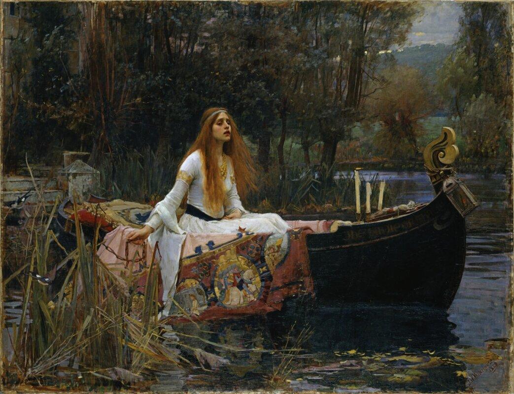 John William Waterhouse: The Lady of Shalott, 1888