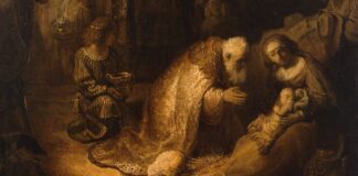 Rembrandt The Adoration of the Magi - forrás: wikipedia
