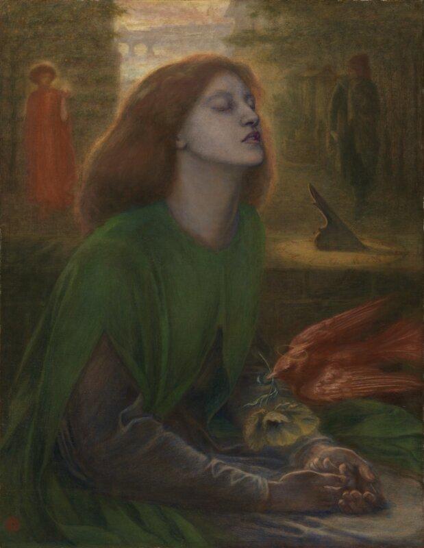 Dante Gabriel Rossetti: Beata Beatrix, 1864-70