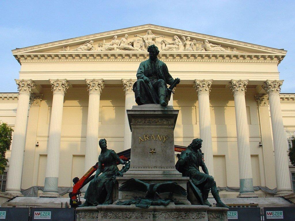 Arany jános szoborcsoport - stróbl alajos munkája - forrás: wikipedia