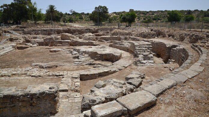 Az ókori Ashkelon maradványai - forrás: Biblewalks.com