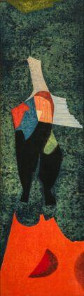 Bálint Endre: Angyal, 1959 olaj, fa, 113,5 × 34,5 cm © Ferenczy Múzeumi Centrum, fotó: Deim Balázs