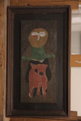 Bálint Endre: Sótartó boszorkány, 1964 olaj, fa, 48 × 26 cm © Ferenczy Múzeumi Centrum, fotó: Deim Balázs