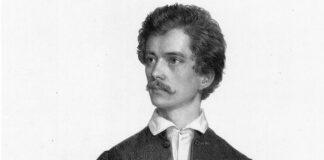 Petőfi Sándor portréja, Barabás Miklós litográfiája (1848)