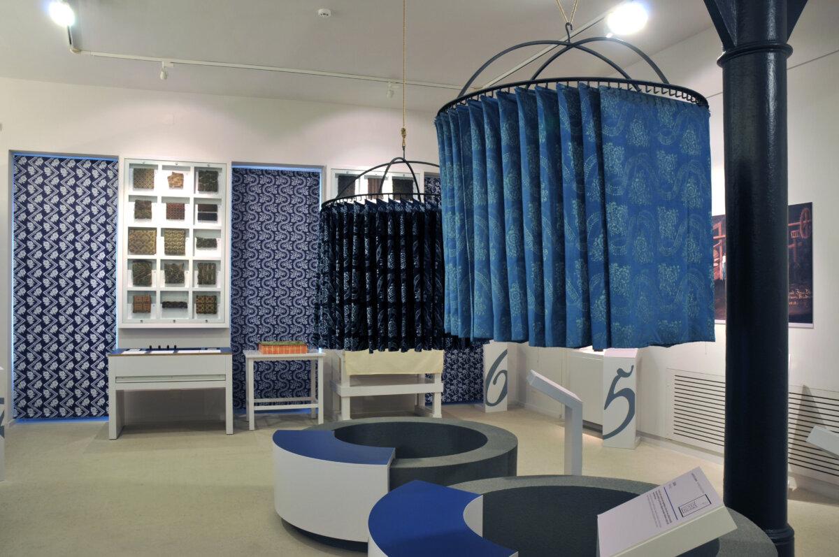 Goldberg textilgyűjtemény - forrás: Műtárgyak Éjszakája