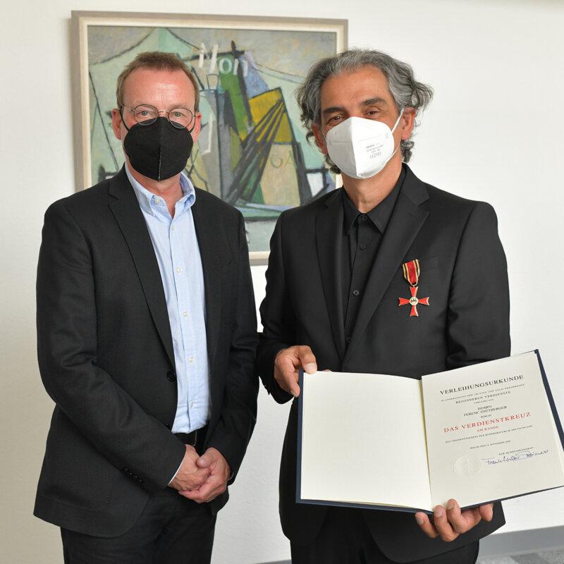 Snétberger Ferenc és Dr. Torsten Wöhlert