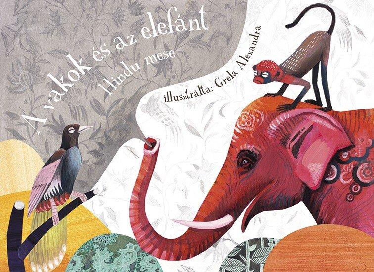 Grela Alexandra (A vakok és az elefánt – Papírszínház, Csimota Könyvkiadó)