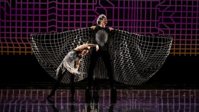Pécsi Balett Vasarely-etűdök - fotó: Kállai-Tóth Anett/Müpa