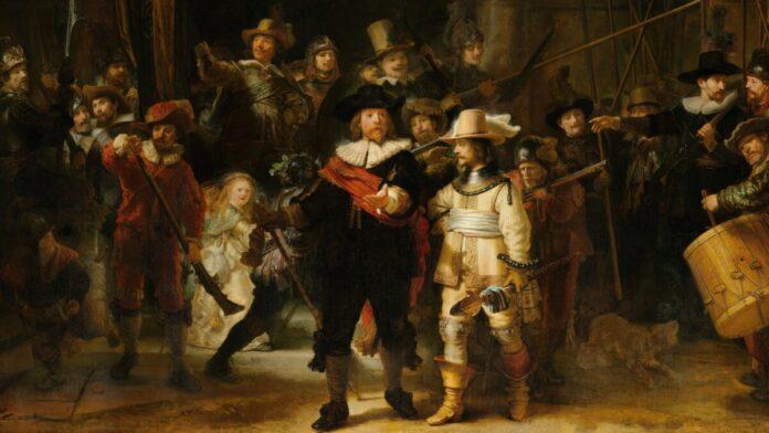 Rembrandt: Éjjeli őrjárat - fotó: Rijksmuseum