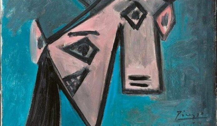 Pablo Picasso: Női fej (1946)